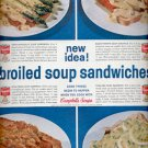 1960- Campbell's soups  ad (#5731)