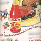 Feb. 17, 1947  Snider's catsup   ad (#6222)