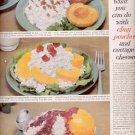 1960  Canned cling peaches from California   ad (#5691)