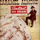 1960   Sealtest Ice Cream- western caramel almond  ad (#5848)