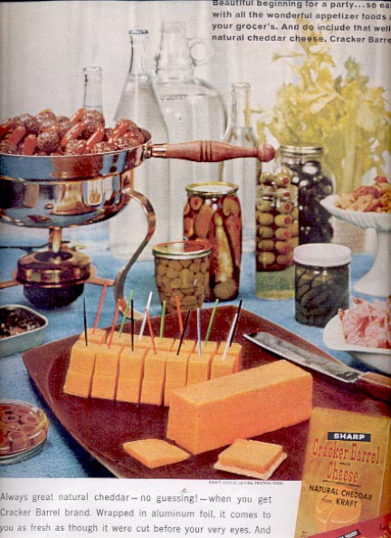 1963   Kraft Cracker Barrel Cheese  ad (#5532)