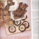 Nov. 1960  Nestle's Chocolate and Diamond Walnuts   ad (#5763)