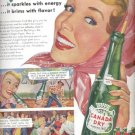 1954   Canada Dry Ginger Ale  ad (# 5152)