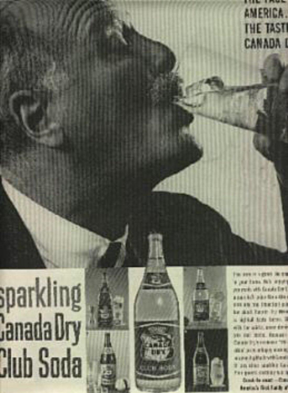 1960  Canada Dry Club Soda ad (# 1307)
