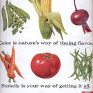 1964 Stokely fruits and vegetables  ad (#5627)