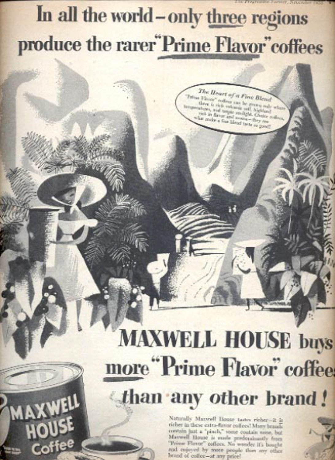 1953  Maxwell House coffee  ad (#5589)