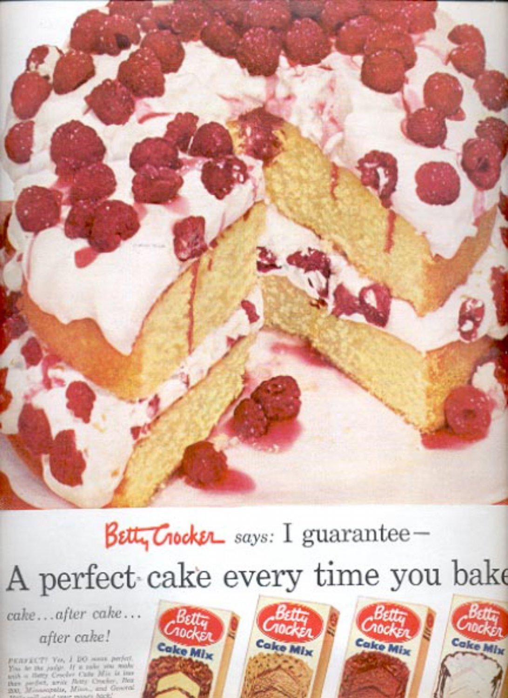 1953  Betty Crocker cake Mix   ad (#5580)