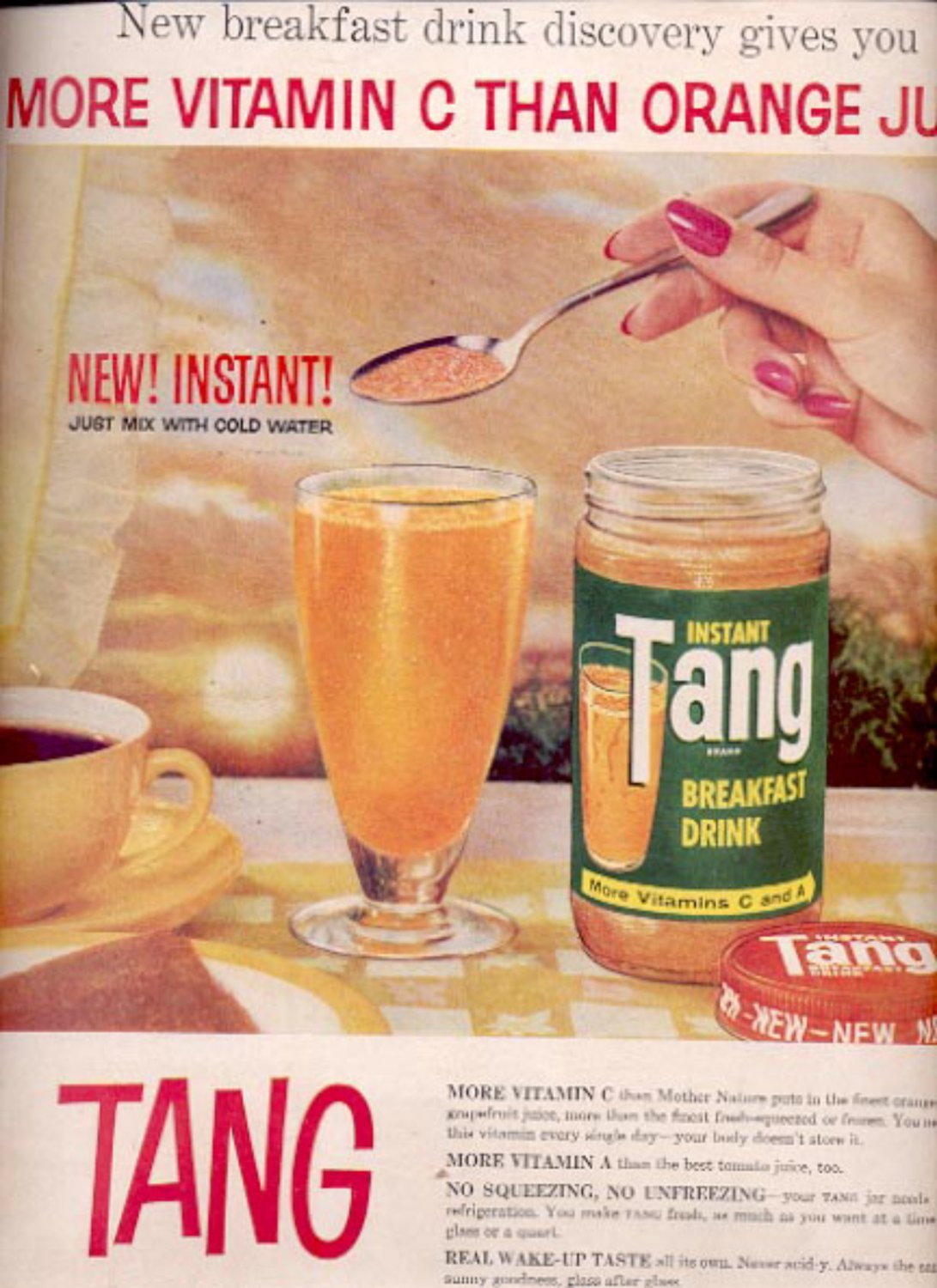 1959  Tang Breakfast Drink  ad (#5551)