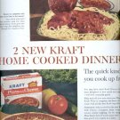 1963   Kraft home cooked dinners   ad (#5528)
