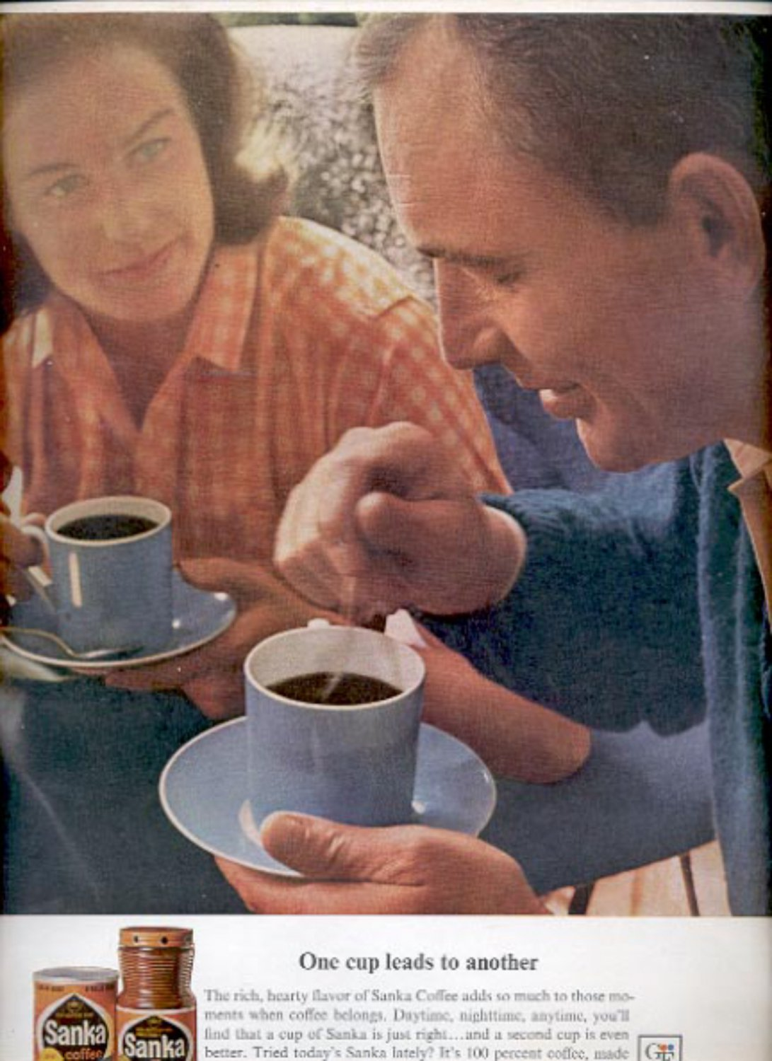 1964  Sanka Coffee  ad (#5390)
