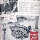 1937   Van Camp's Pork and Beans  ad (# 5118)