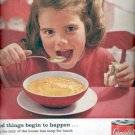 1960  Campbell's Soup  ad (# 5063)