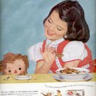 1957  Post Raisin Bran  ad (# 4994)
