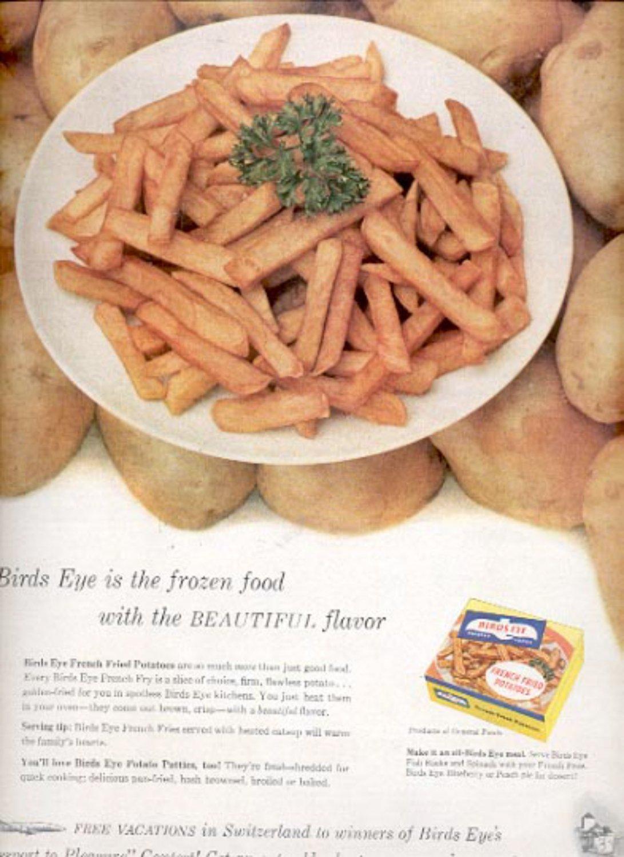 1957  Birds Eye Frozen Food   ad (# 4992)