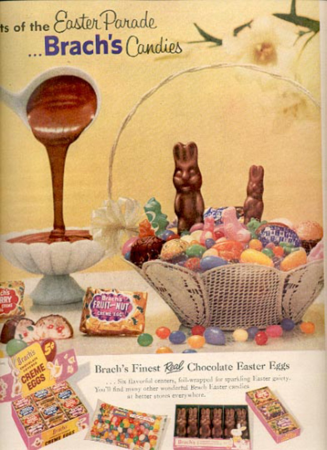 1957  Brach's Candies   ad (# 4990)