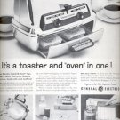 1960 General Electric Toaster and oven     ad (#4094)