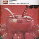 1964  Ocean Spray Cranberry Juice Cocktail  ad (# 4908)