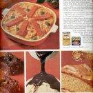 1964     Royal Pudding- Planters Peanut Butter - Spam- Franco-American Macaroni   ad (# 4886)