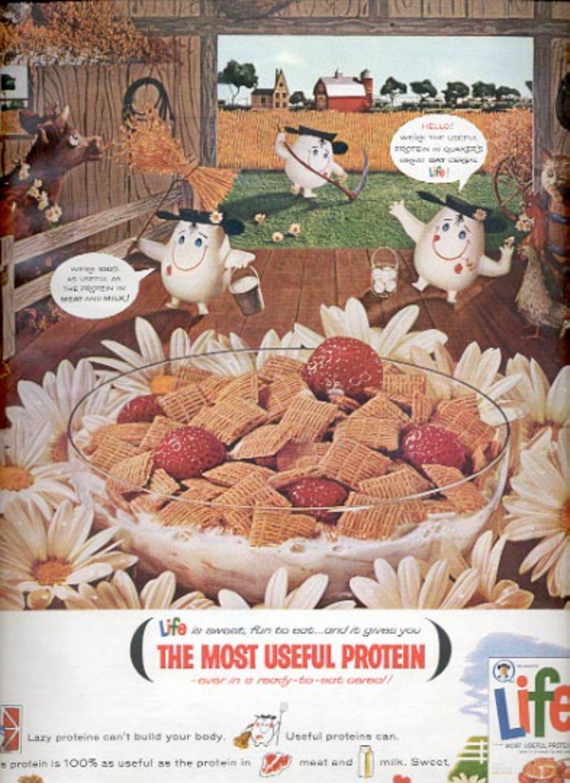 1964    Quaker Life Cereal ad (# 4891)