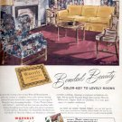 1945  Waverly Bonded Fabrics  ad (#4217)