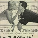 """1963   """"The Thrill of it All!""""  movie  ad  (# 573)"""