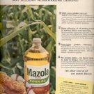 1964  Mazola Pure Corn Oil   ad (# 4866)