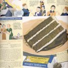 1938   Baker's Cocoa - Baker's Chocolate ad (# 4374)