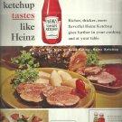 1961  Heinz tomato ketchup  ad (#4045)