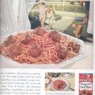 1960    Chef Boy- Ar- Dee Spaghetti and  Meat  Balls ad (#4146)
