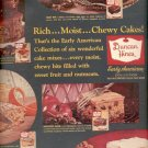 1962  Duncan Hines cake mixes  ad (#4158)