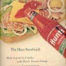 1962  Hunt's Tomato Catsup  ad (#4164)
