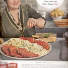 1963   Hunt's tomato Paste  ad (#4203)
