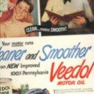 1947 Veedol Motor Oil ad (#371)