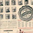 1952 Champion Spark Plugs ad ( # 2308)