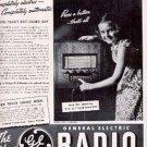 1937 General Electric Radio ad ( # 2708)
