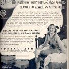 Oct. 18, 1937    Spring-Air Mattress    ad  (#6582)
