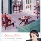 Sept. 1949   Mersman tables - The Mersman Bros.    ad  (#3011)