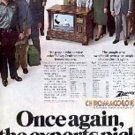 1975  Zenith Tv ad ( # 1521)