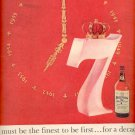 1957 Seagram's Whiskey  ad (# 4964)