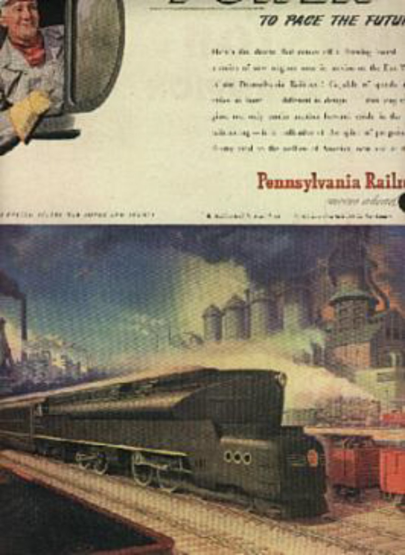 1945  Pennsylvania Railroad ad (#657)