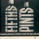 1962 Canada Dry Bourbon ad ( # 2359)