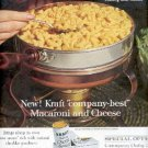 1962 Kraft Macaroni and Cheese ad ( # 2585)