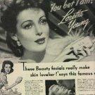 1944  Lux ad  w/ Loretta Young  (# 600)