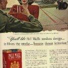 1941  Pall Mall  cig.  ad (  # 715)