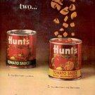 1964 Hunt's tomato sauce ad ( # 2552)