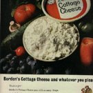 1964 Borden   Cottage Cheese ad ( # 1189)