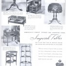 Dec. 1949  Imperial Furniture Company- Imperial Tables   ad (# 17)
