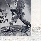 1945 American Railroads ad (# 2340)