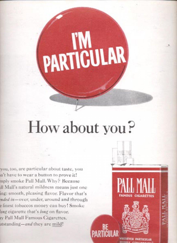 1964 Pall Mall Cigarettes  ad (#5434)