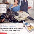 1954 Camel cig. ad (  # 1808)